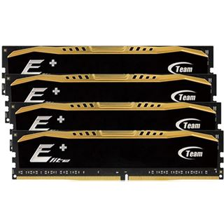 16GB TeamGroup Elite Plus Series schwarz DDR4-2400 DIMM CL16 Quad Kit