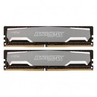 8GB Crucial Ballistix Sport DDR4-2400 DIMM CL16 Dual Kit