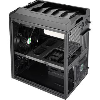 AeroCool Xpredator Cube Black Edition mit Sichtfenster Wuerfel ohne