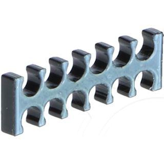E22 12-Slot Kabelkamm 3mm klein - schwarz