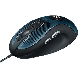 Logitech G400s OEM USB schwarz/blau (kabelgebunden)