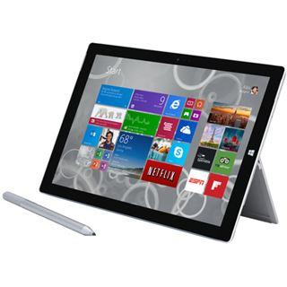 """12.0"""" (30,48cm) Microsoft Surface Pro 3 QG2-00004 WiFi/Bluetooth V4.0 256GB schwarz/silber"""