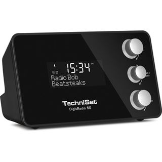 TechniSat DigitRadio 50 DAB+ Radiowecker schwarz