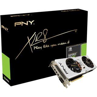 4GB PNY GeForce GTX 980 OC Pure Performance Aktiv PCIe 3.0 x16 (Retail)