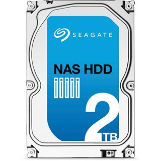 """2000GB Seagate NAS HDD +Rescue ST2000VN001 64MB 3.5"""" (8.9cm)"""