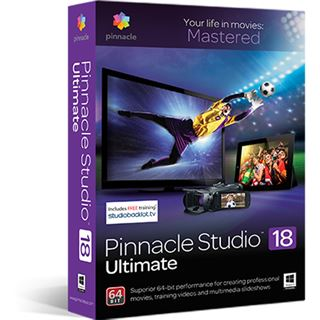 Corel Pinnacle Studio 18 Ultimate 32/64 Bit Multilingual