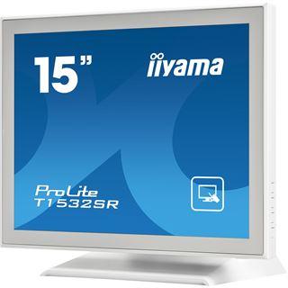 "15"" (38,10cm) iiyama T1532SR-W1 Touch Weiß 1024x768"