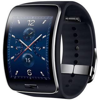Samsung Gear S blau/schwarz