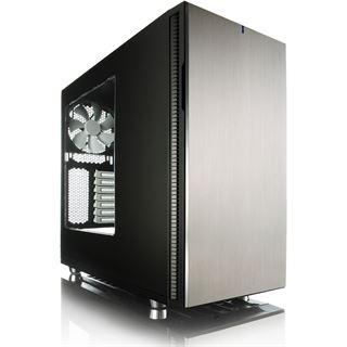 Fractal Design Define R5 gedämmt mit Sichtfenster Midi Tower ohne Netzteil titan