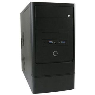 LC-Power 2002MB Mini Tower ohne Netzteil schwarz