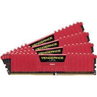 16GB Corsair Vengeance LPX rot DDR4-2666 DIMM CL16 Quad Kit