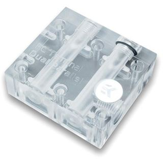 EK Water Blocks EK-FC Terminal DUAL Parallel transparente