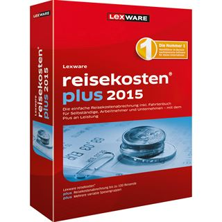 Lexware Reisekosten Plus 2015 32/64 Bit Deutsch Finanzen Vollversion PC (CD)
