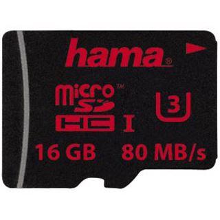 16 GB Hama UHS Speed microSDHC UHS-I Retail