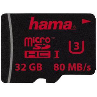 32 GB Hama UHS Speed microSDHC UHS-I Retail