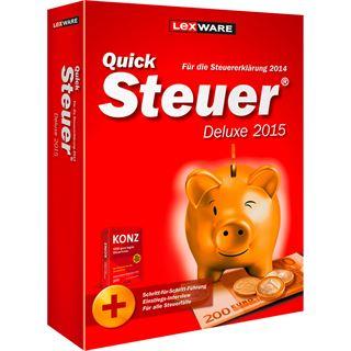 Lexware QuickSteuer Deluxe 2015 32/64 Bit Deutsch Finanzen