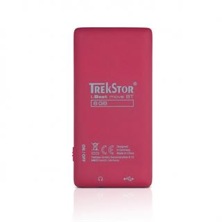 TrekStor i.Beat move BT 8GB rot