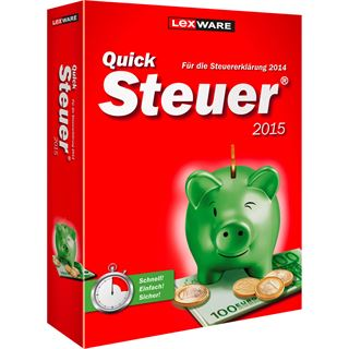 Lexware QuickSteuer 2015 FFP 32/64 Bit Deutsch Finanzen Vollversion