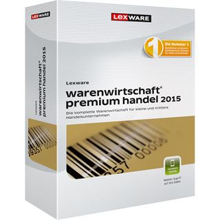Lexware Warenwirtschaft Premium Handel 2015 32/64 Bit Deutsch