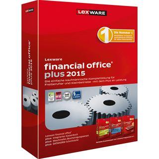 Lexware Financial Office Plus 2015 32/64 Bit Deutsch Finanzen Vollversion PC (CD)