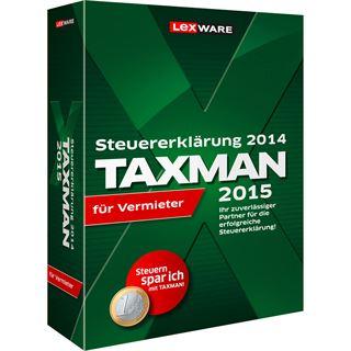 Lexware Taxman 2015 für Vermieter 32/64 Bit Deutsch Finanzen