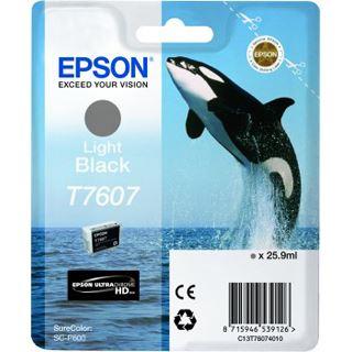 Epson T7607 hell schwarz