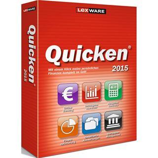 Lexware Quicken 2015 V. 22 FFP 32/64 Bit Deutsch Finanzen Vollversion PC (CD)