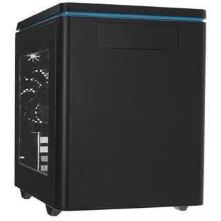 Raidmax Hyperion mit Sichtfenster Mini Tower ohne Netzteil schwarz