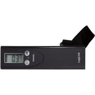 LogiLink Kofferwaage bis 50 KG mit LCD Display schwarz