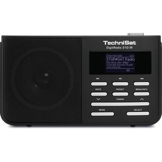 Technisat DigitRadio 210 IR, schwarz/silber