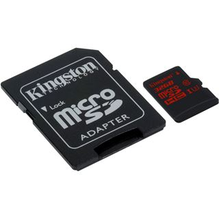 32 GB Kingston microSDHC Class 10 U3 Retail inkl. Adapter auf SD