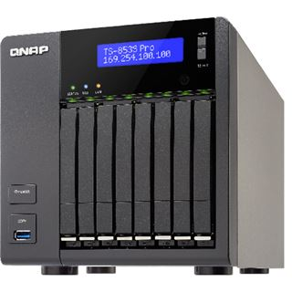 QNAP Turbo Station TS-853S Pro ohne Festplatten