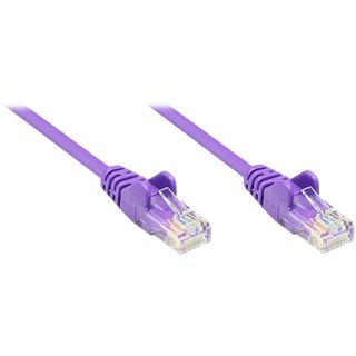 1.50m Good Connections Cat. 5e Patchkabel U/UTP RJ45 Stecker auf RJ45 Stecker Violett