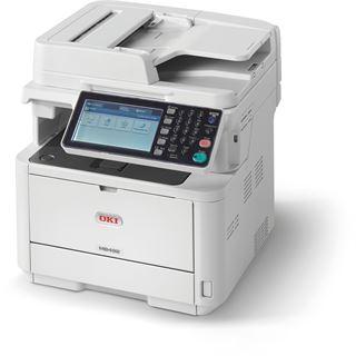 OKI MB492dn S/W Laser Drucken/Scannen/Kopieren/Faxen LAN/USB 2.0/2x RJ-11