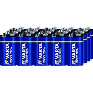 Varta Batterie Alkaline, E-Block, 6LR61, 9V 20er Pack