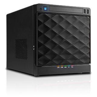 IN WIN Mini Server-Gehäuse MS04 - schwarz