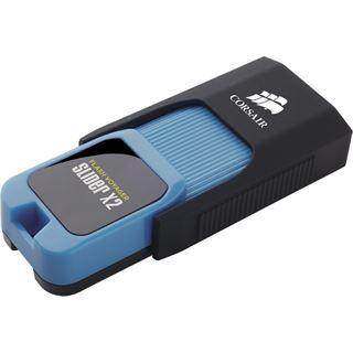 64 GB Corsair Voyager Slider X2 schwarz/blau USB 3.0