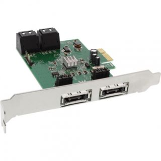 InLine 76617C 6 Port PCIe 2.0 x1 Low Profile retail