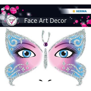 Herma Face Art Sticker Butterfly