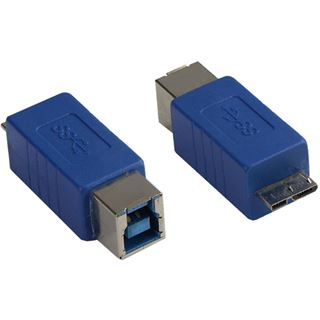 Adapter Good Connections USB 3.0 Typ B Kupplung auf Typ B Micro Stecker, blau, ®