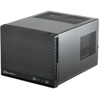Silverstone Sugo SG13B-Q Mini-ITX ohne Netzteil schwarz