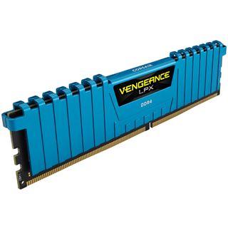 32GB Corsair Vengeance LPX blau DDR4-2400 DIMM CL14 Quad Kit