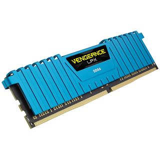16GB Corsair Vengeance LPX blau DDR4-2400 DIMM CL14 Quad Kit