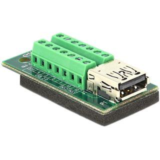 Delock Adapter Terminalblock 14Pin -> USB3.0/3.1 Buchse