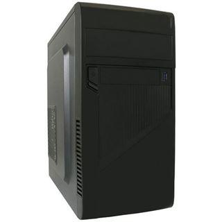 LC-Power 2005 MB Mini Tower ohne Netzteil schwarz