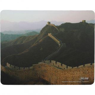 InLine Mauspad chinesische Mauer 240 mm x 190 mm Motiv