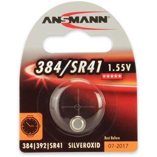 Ansmann Silberoxid-Knopfzelle, 1,55V, 384/SR41 (1516-0020),