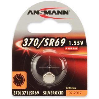 Ansmann Silberoxid-Knopfzelle, 1,55V, 370/SR69 (1516-0018),