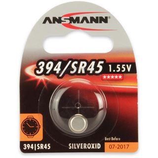 Ansmann Silberoxid-Knopfzelle, 1,55V, 394/SR45 (1516-0016),