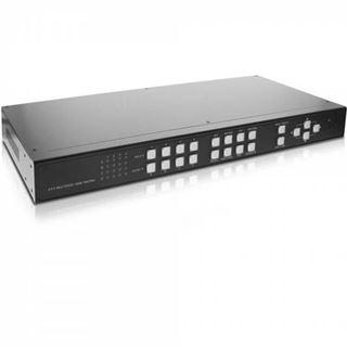 InLine HDMI 4x4 Multi View Matrix / Videowand Switch, 4 Eingänge auf 4 Ausgänge, FullHD